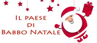Il paese di Babbo Natale Logo