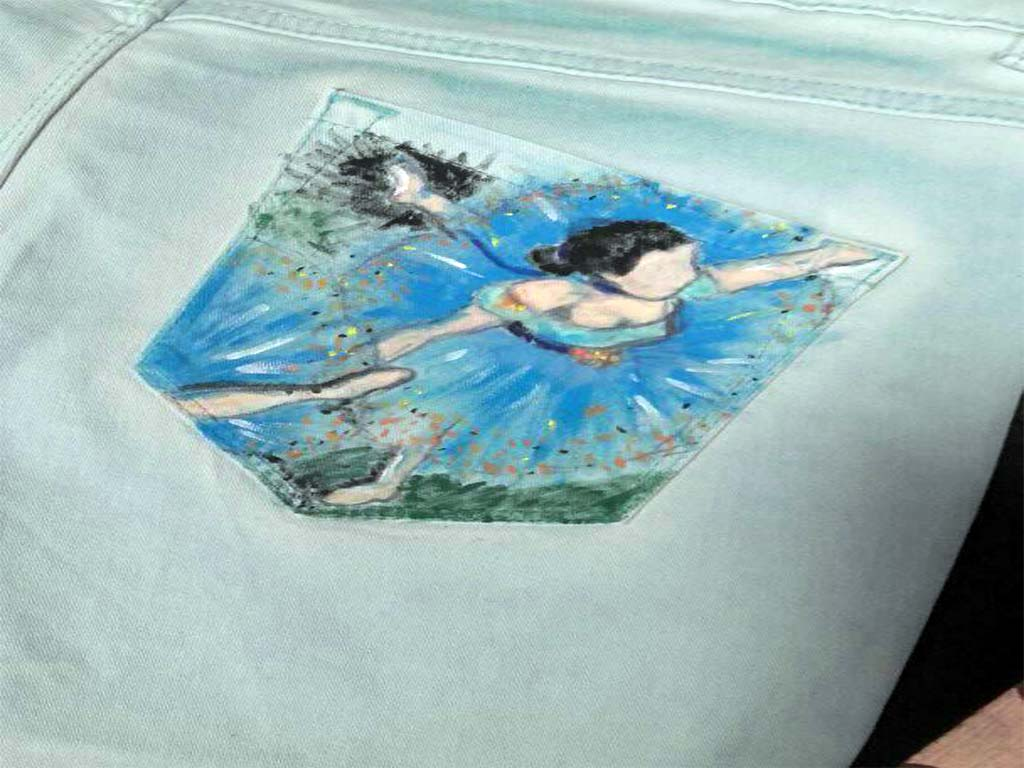 jeans- dipinti a mano-1
