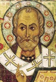San Nicola protettore dei bambini e dei mercanti